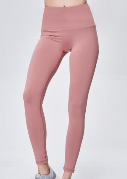 Pantalones de yoga para mujer en ejecución Pantalones de cintura alta Pantalones de fitness Pantalones sexy de secado rápido Ropa delgada para mujer