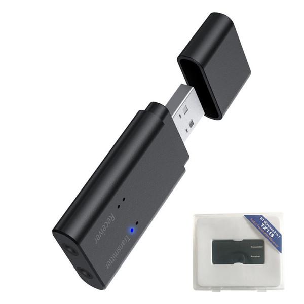 2 IN 1 Bluetooth Sender Empfänger 3.5mm Wireless Adapter Bluetooth 4.2 Stereo Audio Adapter Für TV Home Stereo System Lautsprecher Freisprecheinrichtung