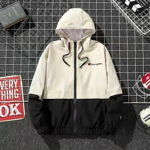 Marke Liebhaber Jacke US Männer Frauen Windbreaker Jacke Outdoor Sport Running Coat Liebhaber Kleidung 15688
