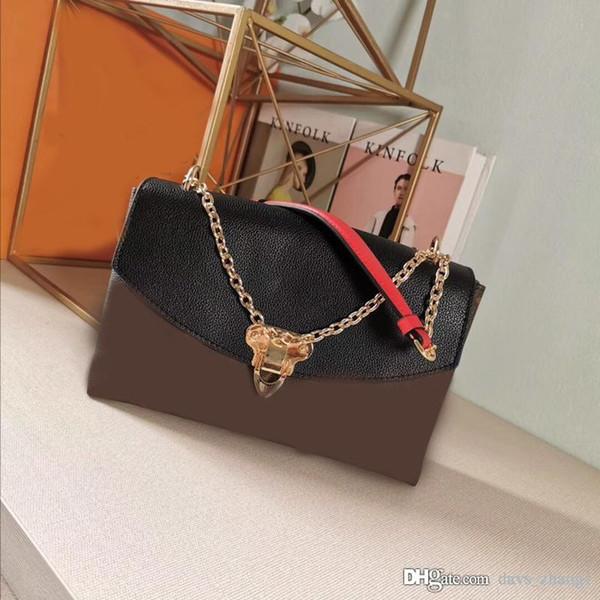 5A Yeni SAINT PLACIDE lüks moda tasarımcısı çanta global Sınırlı Sayıda kopya L ve V tasarımcısı lüks çanta çantalar deri: M43715