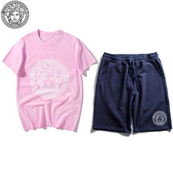 Children Clothing Summer New Children's Short-sleeved T-shirt Shorts Suit for Boy Girl Clothes Kids Two Pieces Suits Brand suit