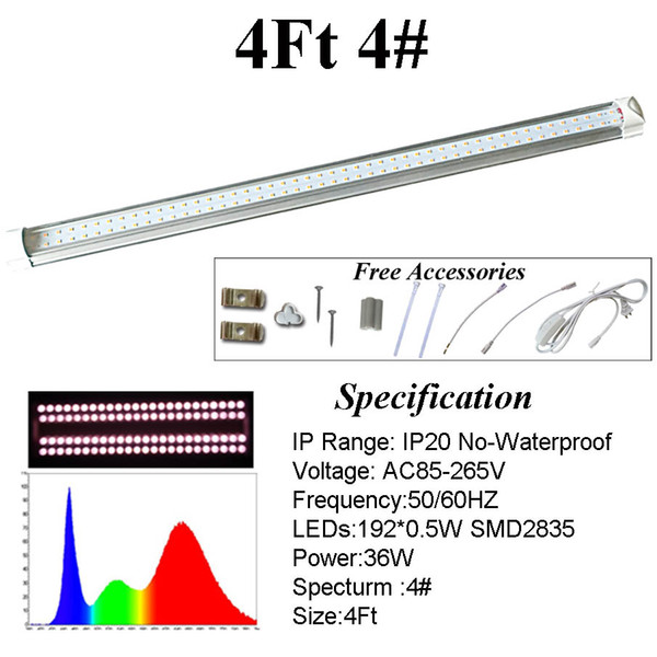4 피트 4 # 스펙트럼 튜브