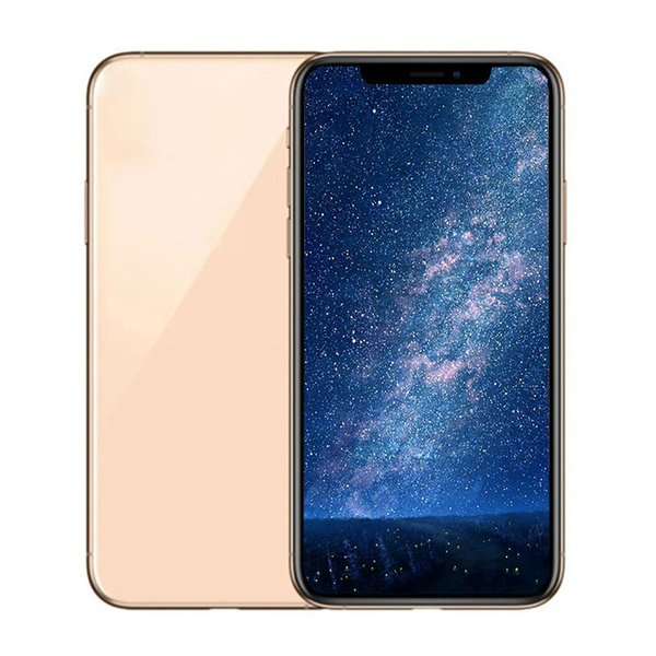 6 5inch goophone xi max quad core mt6580p android martphone ram 1g rom 4g face id wirele charging quare camera 800 500mp eal box