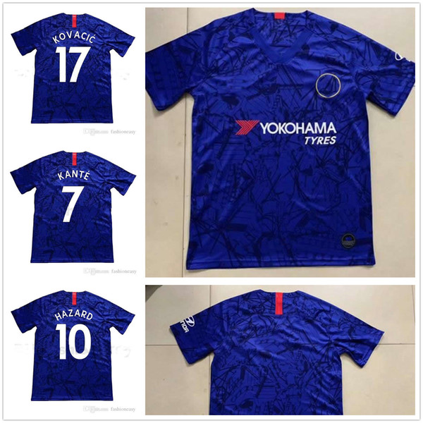 Thailand 19 20 HAZARD JORGINHO PULISIC soccer jersey 2019 2020 HIGUAIN GIROUD KANTE Camiseta de football kits shirt 18 maillot camisetas
