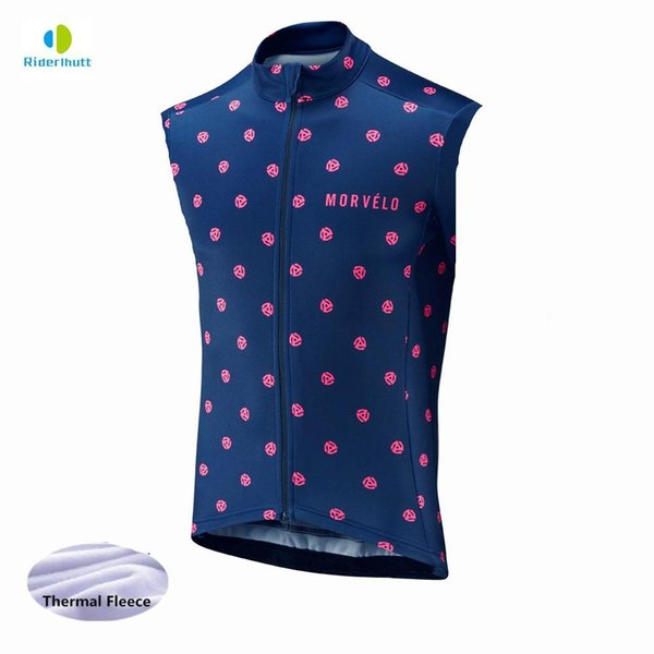 top popular 10 styles Winter Thermal thermal Cycling Vest Men Morvelo Warm sleeveless Fleece Cycling jerseys  Bicycle Bike Clothing 2020