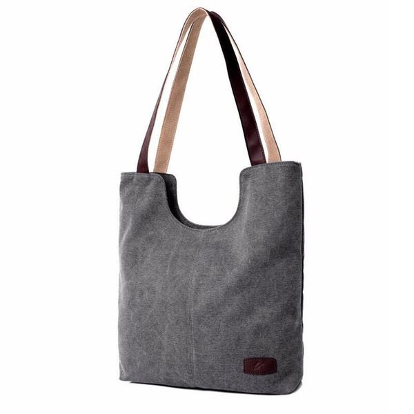 Womens Summer Beach Bags 2016 Vintage Canvas Bags Women Totes bolso de compras grandes bolsos de moda de hombro de las señoras nota portátil