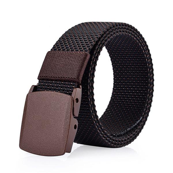 Webbing Belts Army Tactical Belts Luxury Casual Waistbands High Quality Fashion Designer Belts Man Woman Straps Hip Hop Unisex Waist Straps