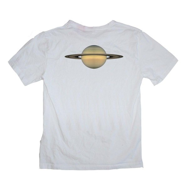 Saturn Star NASA Astrology Planet Solar System Space Shirt S-XXXL Colour print