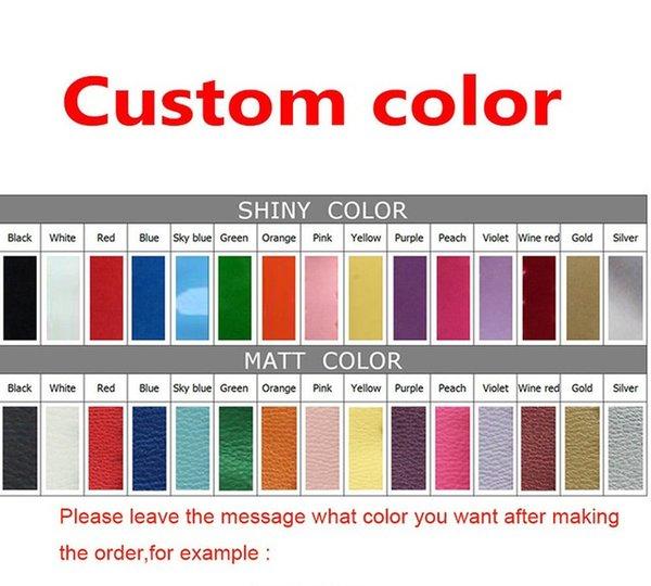 özelleştirilmiş renkler