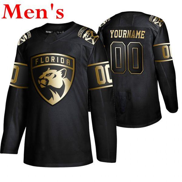 Erkekler # 039; s siyah Golden Edition