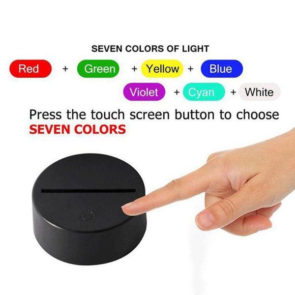 فقط قاعدة RGB دون جهاز التحكم عن بعد