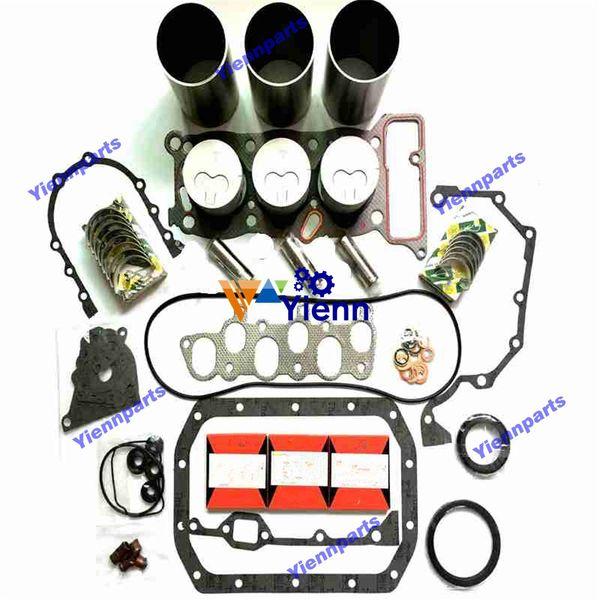3KC1 Motor Überholsatz für Isuzu Dieselmotor Ersatzteile Zylinderlaufbuchse Kolben Kolbenring Lager Volldichtung Set