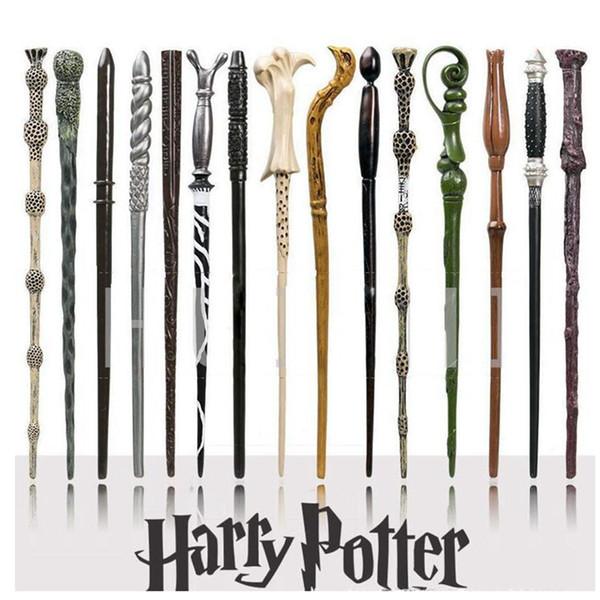 Baguette magique de Harry Potter: accessoires de la série magique de Poudlard Baguette magique de Harry Potter avec une boîte-cadeau Gadgets de plein air ZZA1091 -1