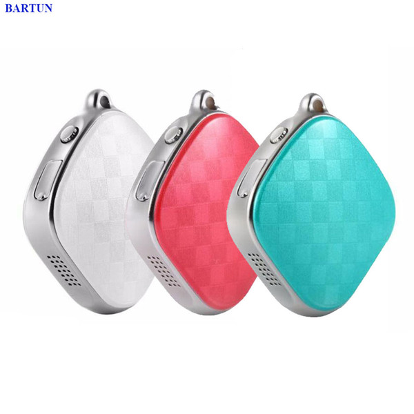 micro gsm 2018 New Mini Smart Keychain Micro GSM GPS Tracker Collar Cat Dogs Kids Pets Car With SOS Alarm Two Way