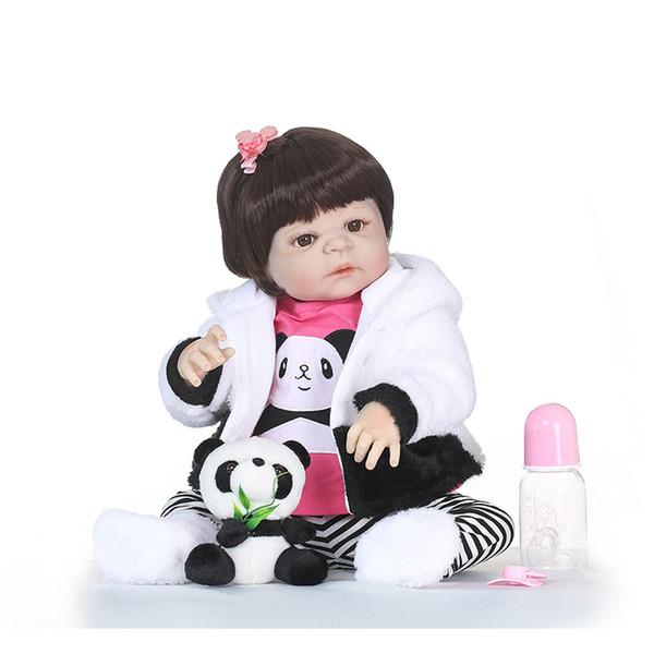 Bebe Reborn Realistic Girl Bonecas Reborn Babies Dolls for Sale Full Silicone Vinyl Baby Doll Toys Lifelike Child Xmas Gift