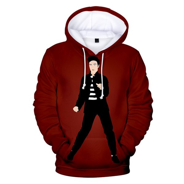 Elvis Presley Print Pullover Hoodie Men/Women Winter Fashion Casual Harajuku Comfortable Hooded Sweatshirt Hot Sale