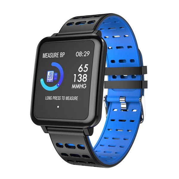 Hot T2 1.3 inch color screen smart watch IP67 waterproof blood oxygen heart rate sleep monitoring sports call reminder smartwatch gift