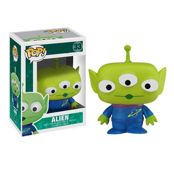 Funko POP New Arrival Alien Action Figure Dolls Collection Figure Model Doll Baby Toys for Children Birthday Gifts