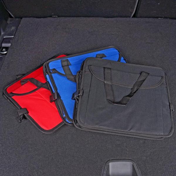 Maletero trasero del coche bolsa de almacenamiento Accesorios para automóviles cajas de almacenamiento plegables para automóviles tipos de colores de gran capacidad Automóviles adorno LJJQ198