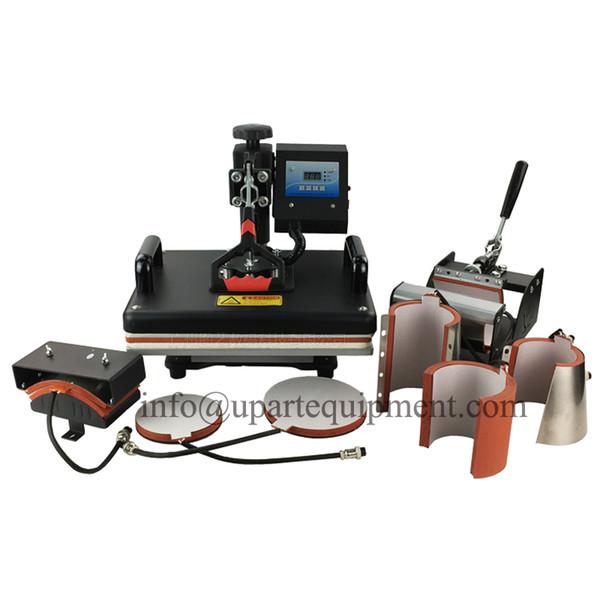 mug tshirt printing machine,printing machine t-shirts for sale,8in1 heat press transfer machine