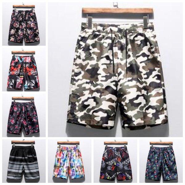 Traje de baño Hombres Bañadores Pantalones de natación Pantalones cortos de natación de verano para hombres Pantalones cortos de secado rápido ocasional Tablero Bermudas Surf Pantalones holgados B4392
