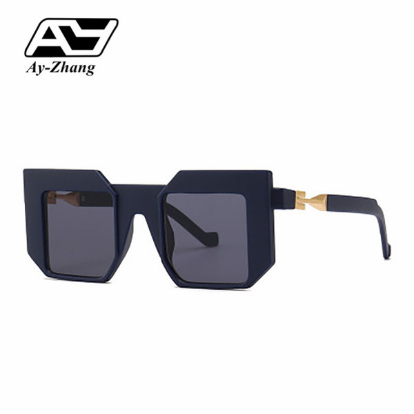 Ay-zhang Future Style Sunglasses Suqare Modern Shades 2019 New Arrival Brand Designer Gradient Eyewear UV400 Oculos De Soul