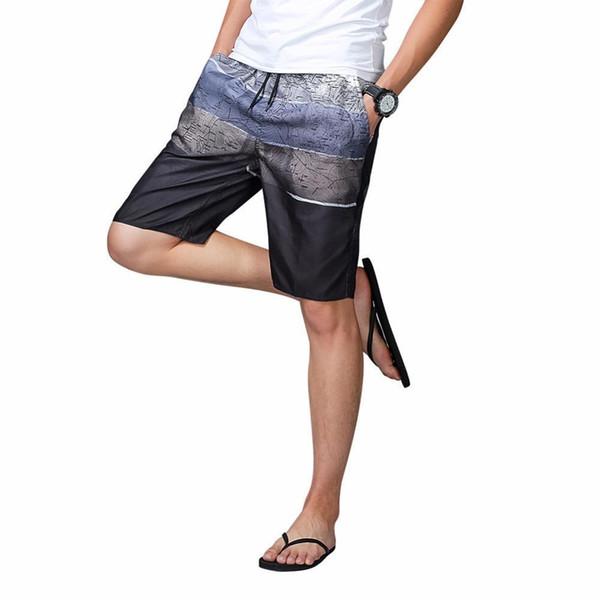 1593a94309ff Compre Hombres De Secado Rápido Breves Troncos De Natación Pantalones  Cortos Para Tabla De Surf Deporte De Verano Para Nadar Calzoncillos Tipo ...