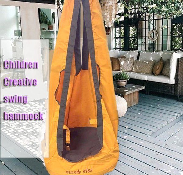2018 Hot sale Outdoor Children Hammock Garden Furniture Swing Chair Indoor Hanging Seat Child Swing Seat Patio Portable D19011702