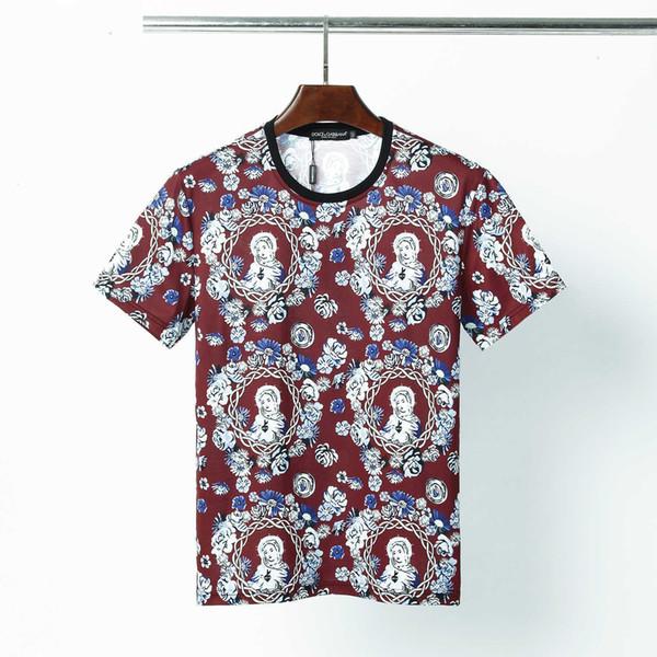 2020 Yeni erkek gömlek Moda Pamuk kısa kollu polo adam tee Boyut M-3XL @ 49 S7S7 t