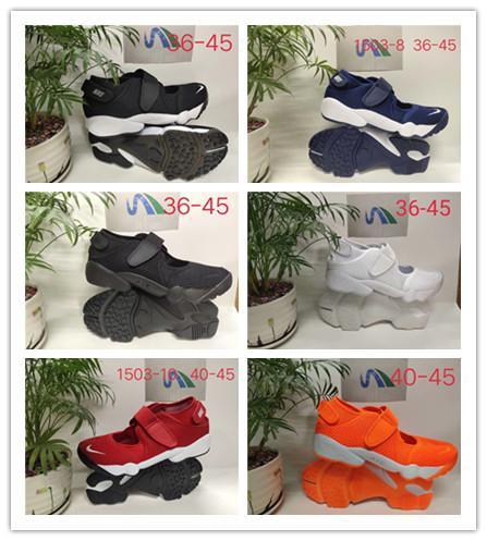 2019 New Hot Homens e Mulheres AIR RIFT shoes Men Ninja sapatos de Alta qualidade Senhora ao ar livre sandálias de esportes