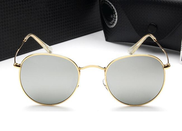 High quality sunglasses men true color film sport women sunglasses glasses driver mirror polarized driving mirror 3447 With Case and box