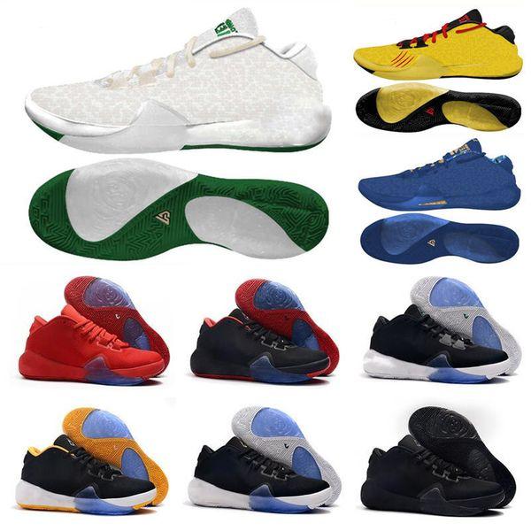 Nuevo 2019 Mvp Giannis Antetokounmpo Greek Freak 1 Triple Black Signature Basketball13 Mujer Hombre Niño Deporte Diseñador Zapatillas de deporte Tamaño 36-46
