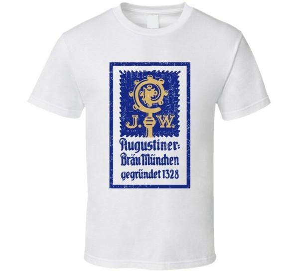 Augustiner Cool Popular Food Drink Restaurant Brand Logo Regalo Camiseta Divertido envío gratis Casual top