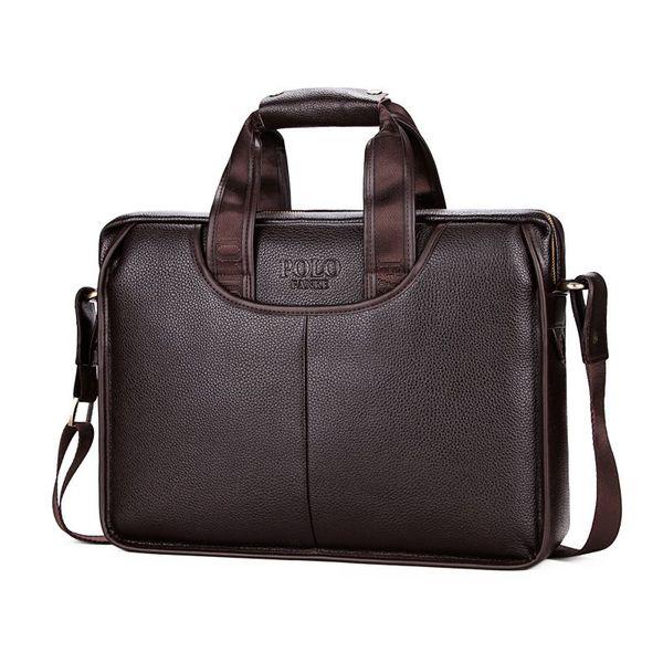 Brand Design Men Handbag Fashion Leather Men Shoulder Bags Male Cross Body Bags Solid Messenger For Notebook M137