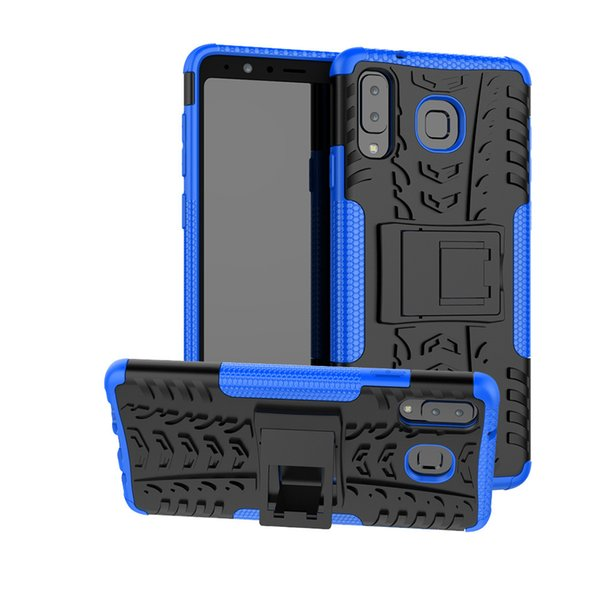 Hybrid Kickstand Impact Rugged Case for Samsung Galaxy J2 Core J260 A9 2018 A9s A7 A750 A8 Star Hard Cover Shockproof Shell