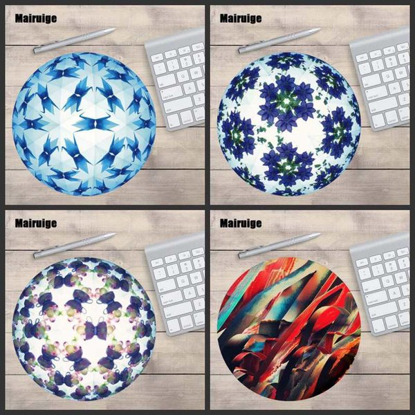 Design round professional gamer speed pad office notebook desktop mouse pad gift