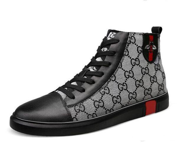 2019 Top Qualität Luxus Männer Schuhe Freizeitschuhe Mode Marke männlichen Schuh 2 Farbe Marke Verkauf Modell 38-46