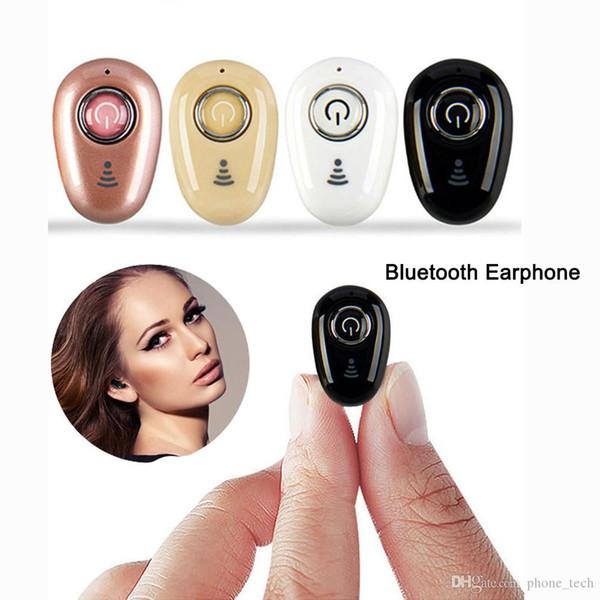 New S650 Mini Wireless BT V4.1 Headset Stereo Earbud Headphone Earphone hands-free Business Talk Mp3 Music Gaming