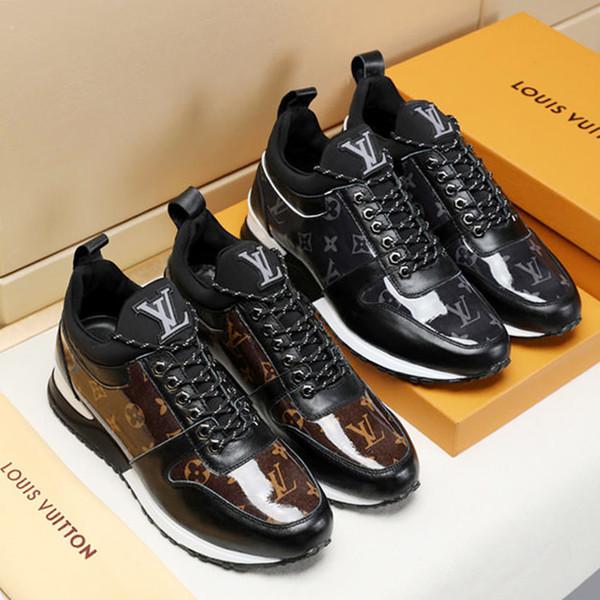 Scarpe da uomo Run Away Sneaker 2019 Moda con scatola originale Zapatos de hombre Stivaletti moda calda Chaussures pour hommes con scatola di origine