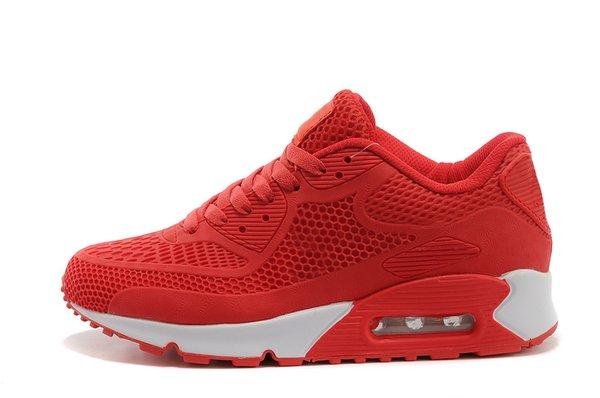 Compre Nike Air Max 90 95 97 98 270 2018 Nuevo Air Cushion 90 KPU Hombre Mujer Zapatos Deportivos Zapatillas Clásicas De Alta Calidad Baratas es