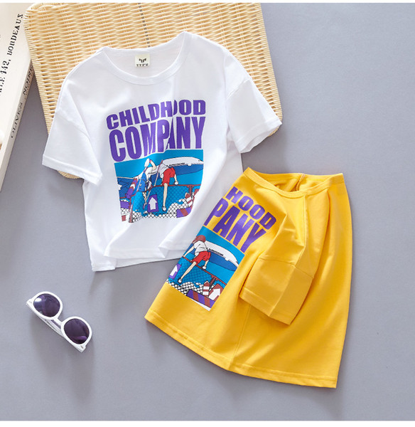 Short-sleeved T-shirt for Boys 2019 New Summer Dress Baby Half-sleeved T-shirt 1-2-3 Years Old Cotton Loose Korean Edition Top Trend