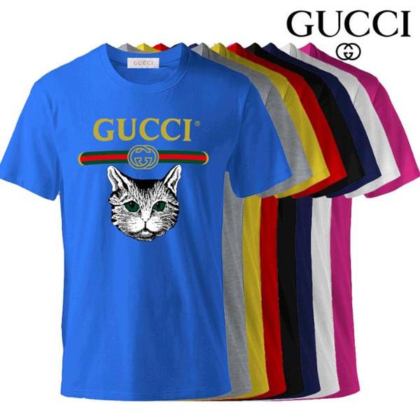 Großhandel Polo Männer Ralph Herren Designer T-Shirts Herrenbekleidung Luxus-Shirt Mode Paris Tiger Kopf Shirt Langarm Rundhalsausschnitt Baumwolle BH