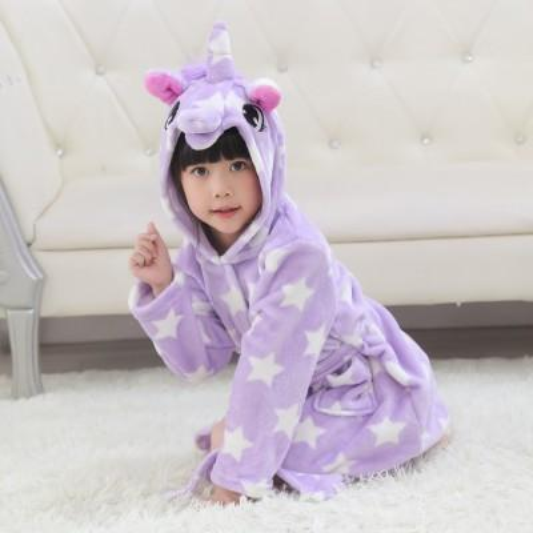 Purple star unicorn