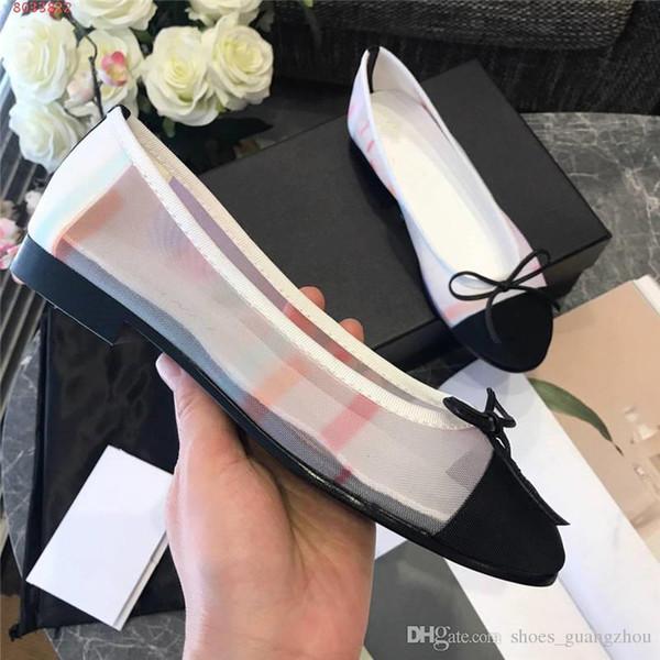 Kadın ayakkabı yuvarlak kafa ipek set ayak zarif atmosfer düz dipli rahat Yay sığ ağız rahat moda tek ayakkabı