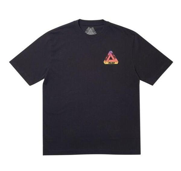 New PAL19SS GLOBULAR T-SHIRT Gradient Rainbow Ball Short Sleeve T-Shirt Black White S M L XL