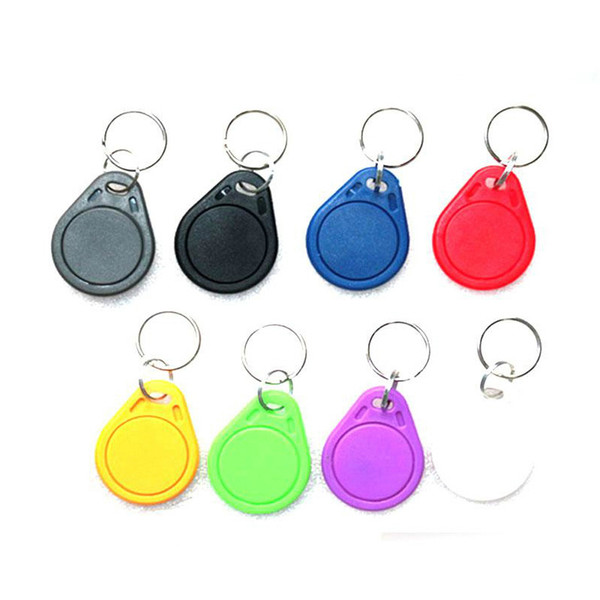 50pcs 13.56mhz UID RFID 13.56 mhz Changeable Tag Keyfob Blank Writable Card Rewriteable for Copier Writer Duplicator Copy
