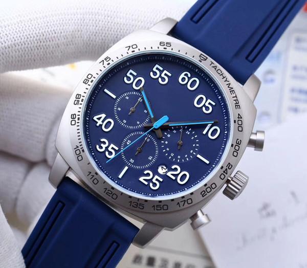 2019 nuevo reloj de pulsera para hombres boutique diseño multifuncional banda de cuero de cuarzo para niños deporte reloj de pulsera informal