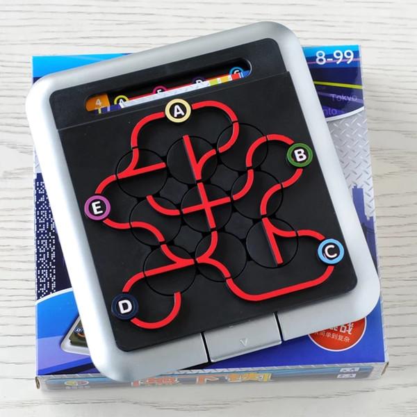 Task solving maze development intelligence game logic thinking reasoning educational toys