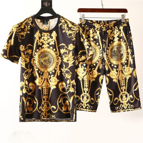 just4urwear / Mode Für Männer Kleidung Sets Kurzarm Druck Trainingsanzüge 2 STÜCKE Mens Casual Sommer Tragen Designer Kleidung Set