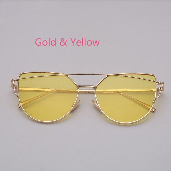 Желтая прозрачная